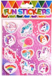12 Unicorn Stickers