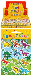 12 Dinosaur Stickers
