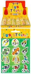 12 Football Stickers