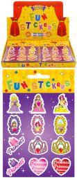 12 Princess Stickers