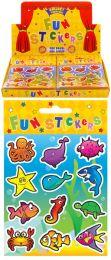 12 Sea Life Stickers