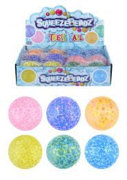 Squeeze Stress Balls with Beads 7cm