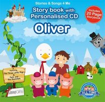 Personalised Songs & Story Book for Oliver