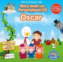 Personalised Songs & Story Book for Oscar