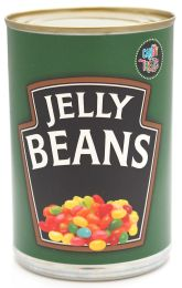 Novelty Jelly Beans in Tin Can