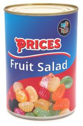 Novelty Fruit Salad in Tin Can - Candy Treats