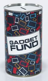 Gadget Fund Savings Tin - (LRG)