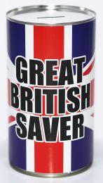 Great British Saver Fund Savings Tin - (LRG)