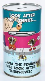 Pennies & Pounds Savings Tin - (LRG)