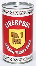 Liverpool Football Fan Savings Tin - (LRG)