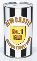 Newcastle United Football Fan Savings Tin - (LRG)