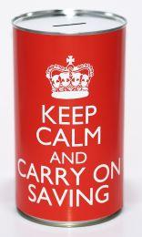 Keep Calm and Keep Saving - (Large)