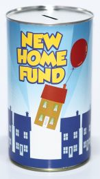New Home Fund Savings Tin - (LRG)