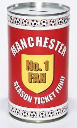 Manchester United Football Savings Tin - (LRG)