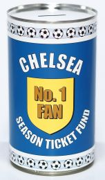 Chelsea Football Savings Tin - (LRG)