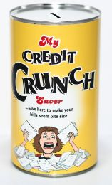Credit Crunch Savings Tin - (LRG)