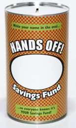 Personalised Savings Tin - (LRG)