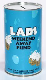 Weekend Away Fund Savings Tin - (LRG)