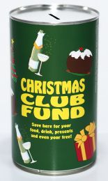 Christmas Club Fund - Savings Tin