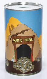 Gold Mine Savings Tin - (LRG)
