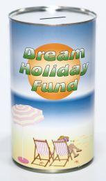 Dream Holiday Fund Savings Tin - (LRG)