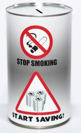 Stop Smoking Savings Tin - (LRG)
