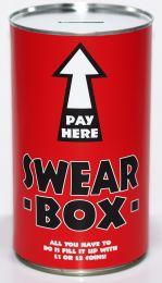 Swear Tin Cash Can Savings Tin - (LRG)