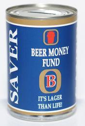 Beer Fund Savings Tin