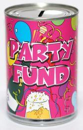 Party Fund Savings Tin
