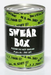 Swear Fund Savings Tin