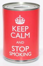 Keep Calm & Stop Smoking Savings Tin