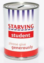Starving Student Fund Savings Tin