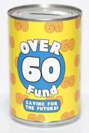60th Birthday Party Fund Savings Tin