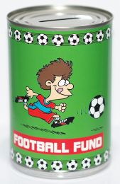 Football Fund Savings Tin