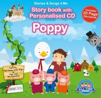 Personalised Songs & Story Book for Poppy