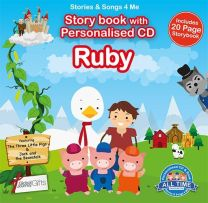Personalised Songs & Story Book for Ruby