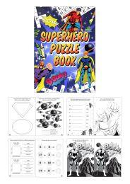 Mini Puzzle Book - Super Hero