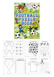 Mini Puzzle Book - Football