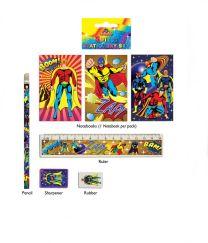 Super Hero Stationery Set