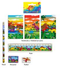 Dinosaur Stationery Set