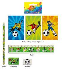 Football Stationery Set