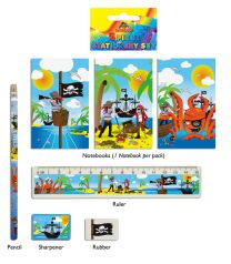 Pirate Stationery Set