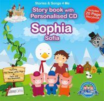 Personalised Songs & Story Book for Sophia