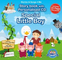 Personalised Songs & Story Book for a Special Little Boy