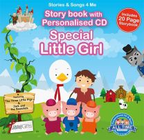 Personalised Songs & Story Book for a Special Little Girl