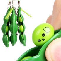 PUSH POPPERS - Pea Pod Key Ring