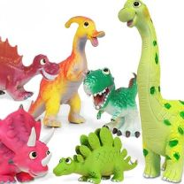 "Soft Plastic Cute Dinosaurs 9"""