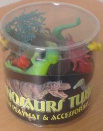 Dinosaur Playset in Tub 12pcs