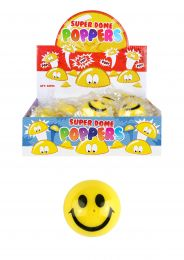 Jumping Poppers Smiley Face