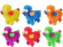 Light Up Puffer Poodle Toy